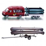 Trailer Hauling Canoes Option