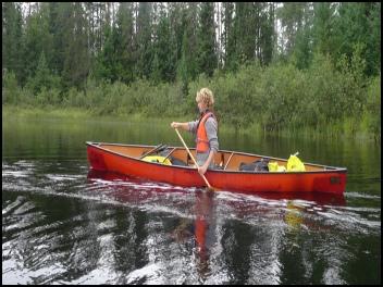 Souris River Tranquility solo canoe - Winnipeg Canoe & Kayak